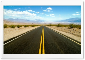 Road To Death Valley HD Wide Wallpaper for 4K UHD Widescreen desktop & smartphone