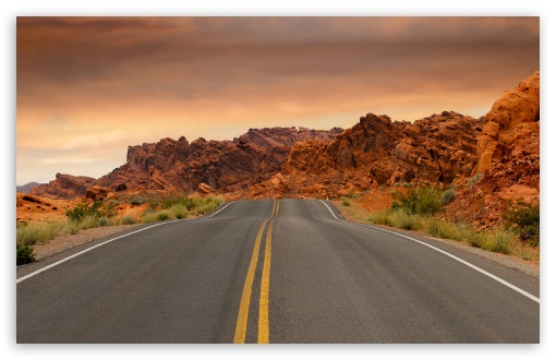 Download Road to Las Vegas HD Wallpaper