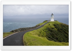 Road To The Lighthouse HD Wide Wallpaper for 4K UHD Widescreen desktop & smartphone