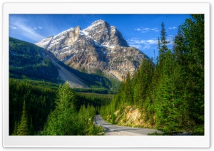 Roads In Yoho National Park Canada HD Wide Wallpaper for 4K UHD Widescreen desktop & smartphone