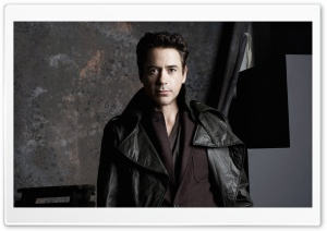 Robert Downey Jr HD Wide Wallpaper for Widescreen