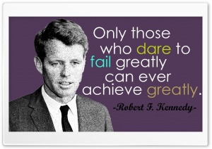 Robert F. Kennedy Quotes HD Wide Wallpaper for 4K UHD Widescreen desktop & smartphone