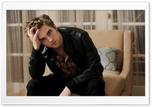 Robert Pattinson HD Wide Wallpaper for Widescreen