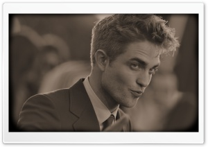 Robert Pattinson Vintage HD Wide Wallpaper for 4K UHD Widescreen desktop & smartphone