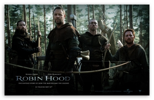 Robin Hood, 2010 Movie HD wallpaper for Wide 16:10 5:3 Widescreen WHXGA WQXGA WUXGA WXGA WGA ; Standard 5:4 3:2 Fullscreen QSXGA SXGA DVGA HVGA HQVGA devices ( Apple PowerBook G4 iPhone 4 3G 3GS iPod Touch ) ; Mobile 5:3 3:2 5:4 - WGA DVGA HVGA HQVGA devices ( Apple PowerBook G4 iPhone 4 3G 3GS iPod Touch ) QSXGA SXGA ;