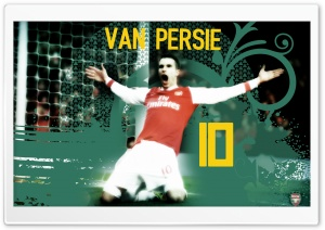 Robin Van Persie HD Wide Wallpaper for Widescreen