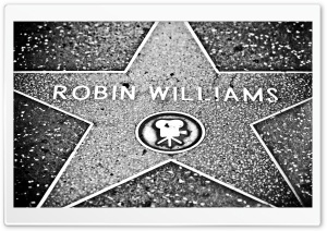 Robin Williams Star HD Wide Wallpaper for 4K UHD Widescreen desktop & smartphone