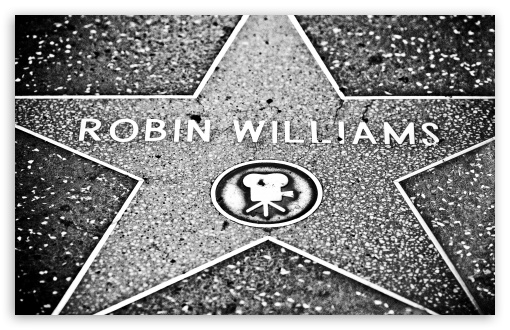 Robin Williams Star 4K HD Desktop Wallpaper For 4K Ultra