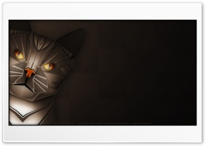 RoboCAt HD Wide Wallpaper for 4K UHD Widescreen desktop & smartphone