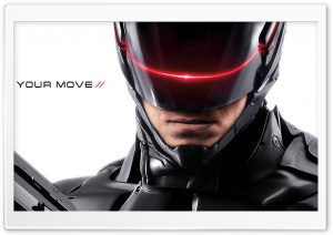 Robocop 2014 Movie HD Wide Wallpaper for 4K UHD Widescreen desktop & smartphone