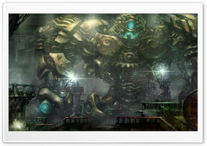 Robot HD Wide Wallpaper for Widescreen