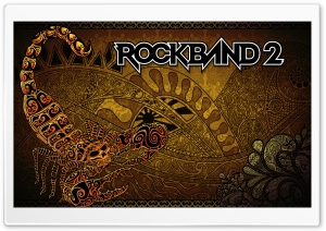 Rock Band 2 HD Wide Wallpaper for Widescreen