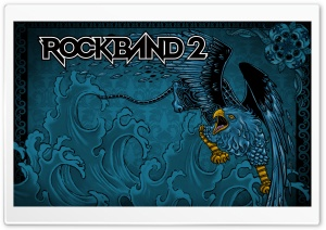 Rock Band 2 Game HD Wide Wallpaper for Widescreen