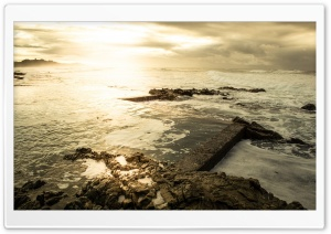Rock Pools HD Wide Wallpaper for Widescreen