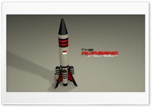 Rocket 3D Ultra HD Wallpaper for 4K UHD Widescreen desktop, tablet & smartphone