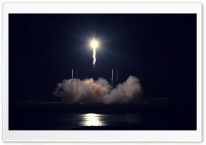 Rocket Flies HD Wide Wallpaper for Widescreen