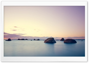 Rocks In The Water HD Wide Wallpaper for Widescreen