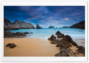 Rocky Bay HD Wide Wallpaper for Widescreen