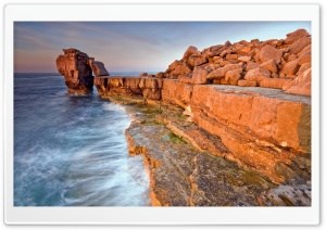 Rocky Beach HD Wide Wallpaper for Widescreen