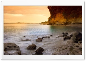 Rocky Beach 25 HD Wide Wallpaper for Widescreen