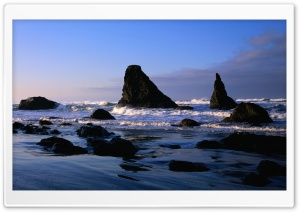 Rocky Beach 30 HD Wide Wallpaper for 4K UHD Widescreen desktop & smartphone