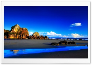 Rocky Beach 33 HD Wide Wallpaper for Widescreen