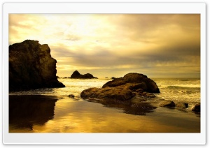 Rocky Beach 7 HD Wide Wallpaper for 4K UHD Widescreen desktop & smartphone