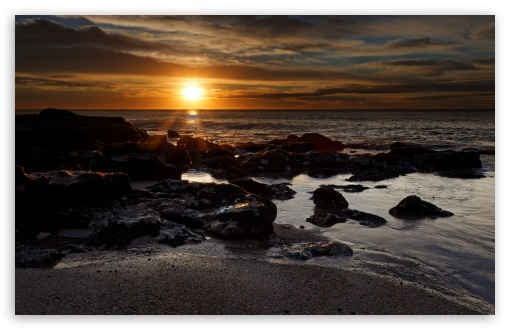 Rocky Beach Sunset HD wallpaper for Wide 16:10 5:3 Widescreen WHXGA WQXGA WUXGA WXGA WGA ; HD 16:9 High Definition WQHD QWXGA 1080p 900p 720p QHD nHD ; Standard 4:3 5:4 3:2 Fullscreen UXGA XGA SVGA QSXGA SXGA DVGA HVGA HQVGA devices ( Apple PowerBook G4 iPhone 4 3G 3GS iPod Touch ) ; Tablet 1:1 ; iPad 1/2/Mini ; Mobile 4:3 5:3 3:2 16:9 5:4 - UXGA XGA SVGA WGA DVGA HVGA HQVGA devices ( Apple PowerBook G4 iPhone 4 3G 3GS iPod Touch ) WQHD QWXGA 1080p 900p 720p QHD nHD QSXGA SXGA ; Dual 16:10 5:3 16:9 4:3 5:4 WHXGA WQXGA WUXGA WXGA WGA WQHD QWXGA 1080p 900p 720p QHD nHD UXGA XGA SVGA QSXGA SXGA ;