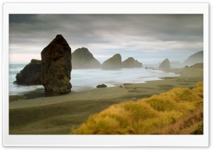 Rocky Coast Line HD Wide Wallpaper for Widescreen