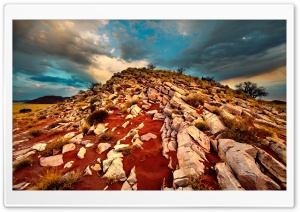 Rocky Hill HD Wide Wallpaper for Widescreen