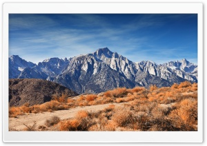 Rocky Mountain Peaks Autumn HD Wide Wallpaper for Widescreen