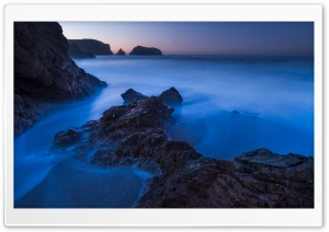 Rodeo Beach, Long Exposure HD Wide Wallpaper for Widescreen