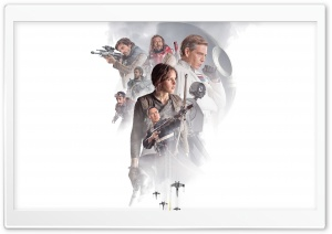Rogue One A Star Wars Story key art HD Wide Wallpaper for Widescreen