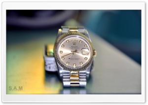 Rolex HD Wide Wallpaper for Widescreen