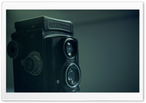 Rolleicord IIb (1938-39) with a Carl Zeiss Triotar 35 HD Wide Wallpaper for Widescreen