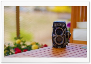 Rolleiflex 28E Xenotar Schneider Kreuznach (late 1950's) HD Wide Wallpaper for Widescreen