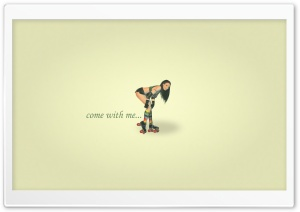 Roller Girl HD Wide Wallpaper for Widescreen