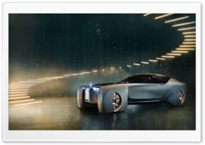 Rolls-Royce Vision Next 100 Concept Car HD Wide Wallpaper for Widescreen