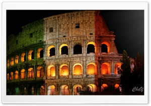 Roman Colosseum HD Wide Wallpaper for Widescreen