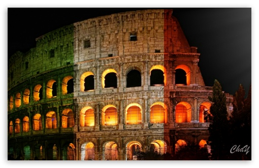 Roman Colosseum HD wallpaper for Wide 16:10 Widescreen WHXGA WQXGA WUXGA WXGA ; HD 16:9 High Definition WQHD QWXGA 1080p 900p 720p QHD nHD ; Mobile 16:9 - WQHD QWXGA 1080p 900p 720p QHD nHD ;