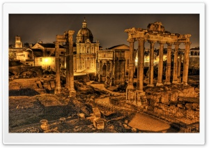 Roman Forum HD Wide Wallpaper for Widescreen
