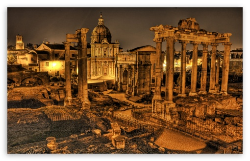 Roman Forum HD wallpaper for Wide 16:10 5:3 Widescreen WHXGA WQXGA WUXGA WXGA WGA ; Standard 4:3 Fullscreen UXGA XGA SVGA ; iPad 1/2/Mini ; Mobile 4:3 5:3 - UXGA XGA SVGA WGA ;