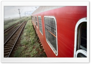 Romanian Old Train HD Wide Wallpaper for Widescreen