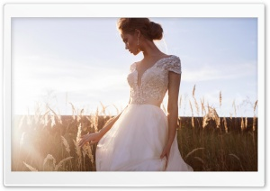 Romantic Bride, Outdoor Photography Ultra HD Wallpaper for 4K UHD Widescreen desktop, tablet & smartphone