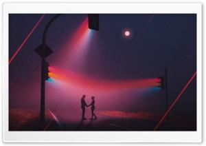 Romantic Night Scene Ultra HD Wallpaper for 4K UHD Widescreen desktop, tablet & smartphone
