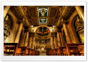Rome Church HD Wide Wallpaper for Widescreen