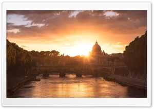 Rome Most Beautiful Places HD Wide Wallpaper for 4K UHD Widescreen desktop & smartphone