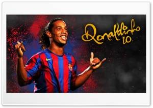 Ronaldinho Barcelona HD Wide Wallpaper for 4K UHD Widescreen desktop & smartphone