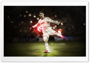 Ronaldo Kick HD Wide Wallpaper for 4K UHD Widescreen desktop & smartphone