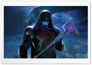 Ronan The Accuser - Guardians Of The Galaxy 2014 Movie HD Wide Wallpaper for Widescreen